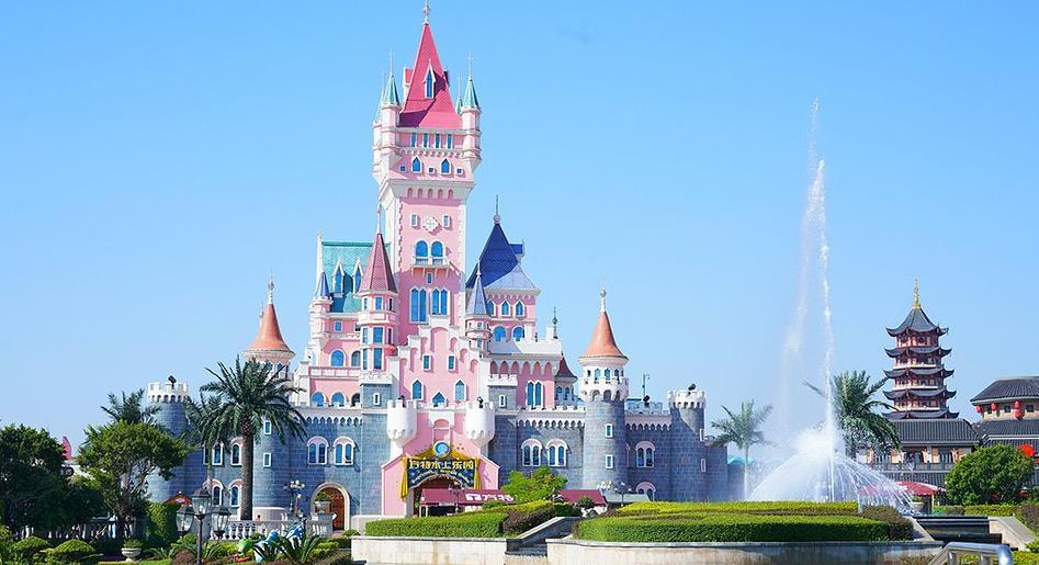 厦门方特梦幻王国乐园旅游景点照片风景图片