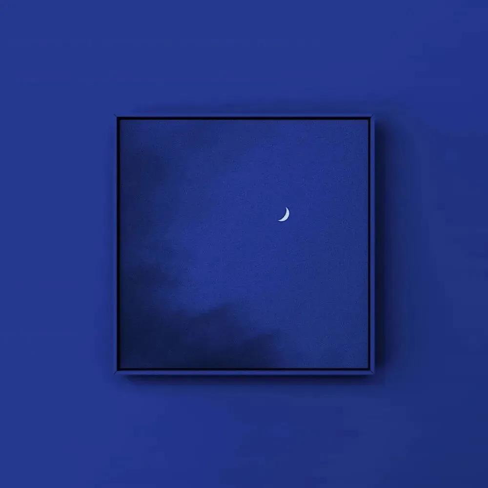 背景图蓝色夜晚|深夜除了孤独、忧郁还有月亮