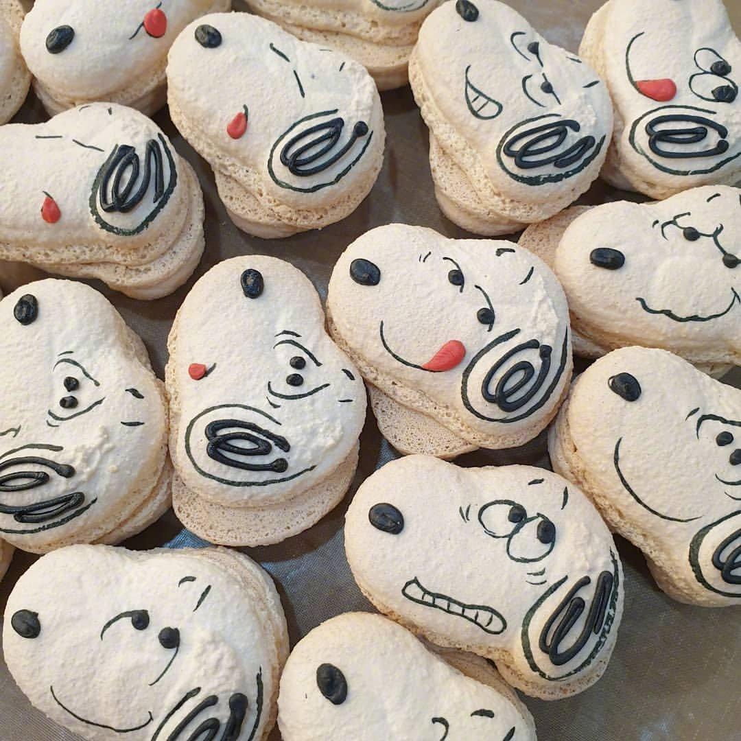 一看就舒心的图片背景|卡通小饼干可爱又美味