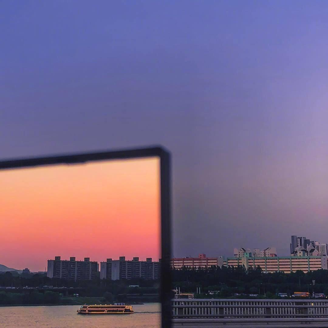 好看的风景图片 适合一个人欣赏的傍晚风光