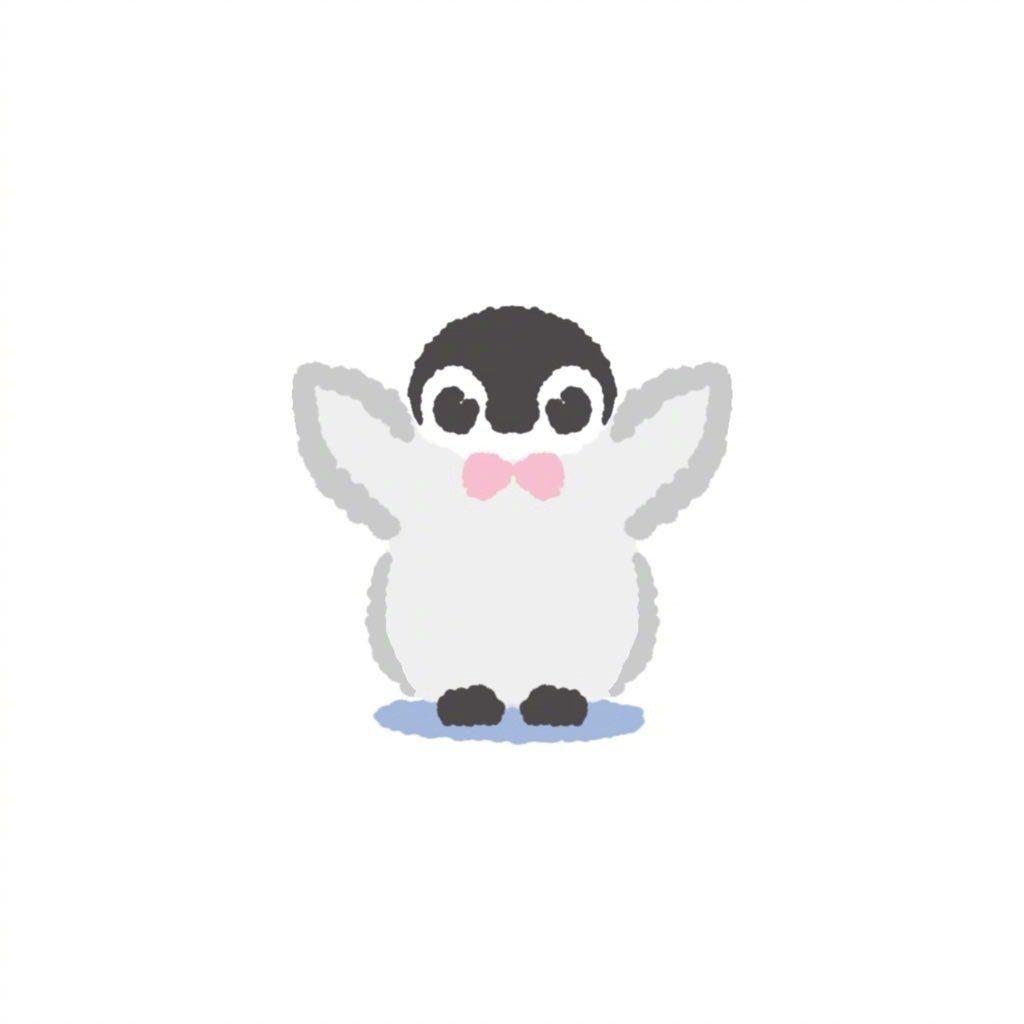 微信图片头像|超萌可爱卡通小企鹅