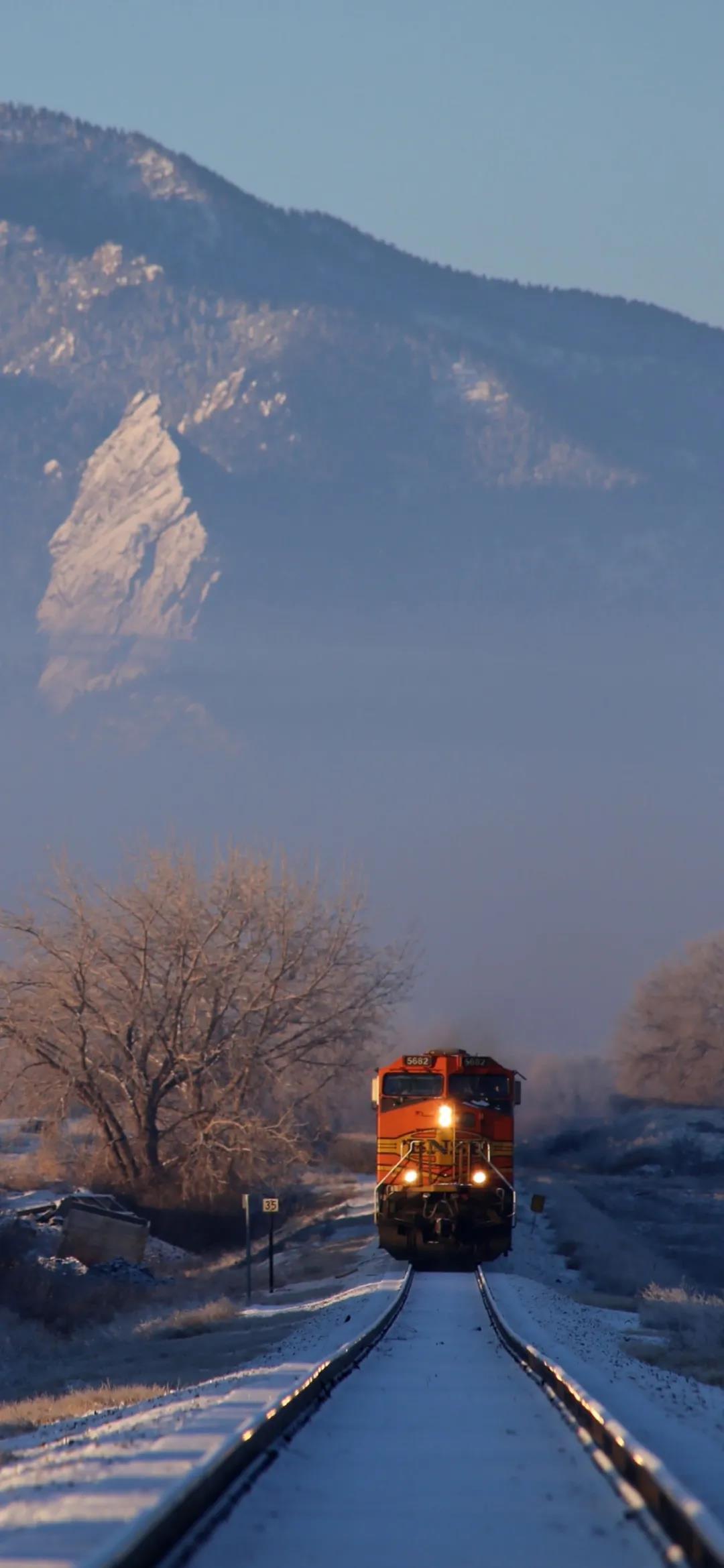 2021最新分享冬天雪景唯美高清手机壁纸图片