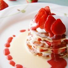 美味甜蜜的可爱蛋糕图片