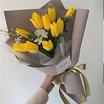 好看唯美的黄色花朵高清