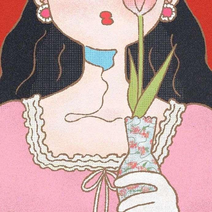 江孑 可爱卡通简笔画手绘