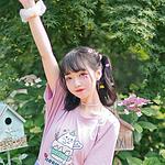 双马尾萝莉粉色系可爱甜