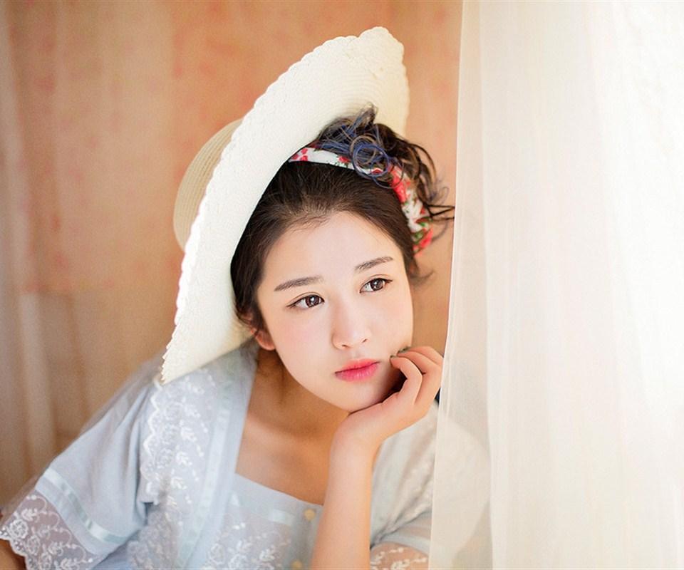 安卓清纯女神美女手机壁纸