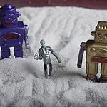 小孩很喜欢玩的微型机器
