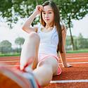 校园运动美女写真