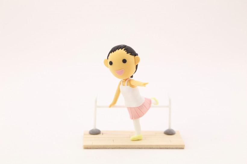 好看卡通艺术芭蕾舞芭蕾舞