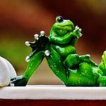 超级可爱有趣的玩具青蛙