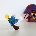 漂亮的蓝精灵玩具
