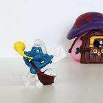 漂亮的蓝精灵玩具图片大