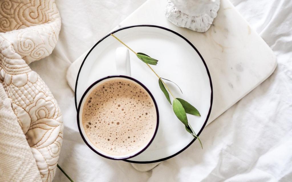 唯美早上好,从一杯咖啡开始图片