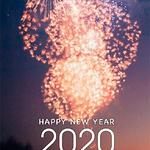 超好看2020年跨年带字 跨年