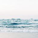 超美波涛涌汹的海