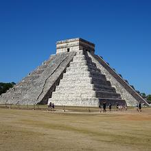 超美库库尔坎金字塔风景图