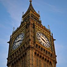 唯美英国伦敦大笨钟建筑风