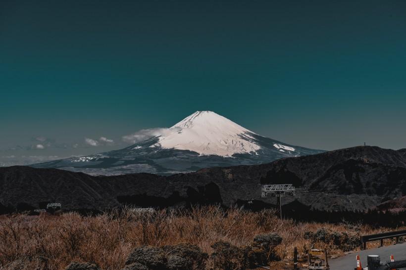 唯美日本富士山自然风景图片大全