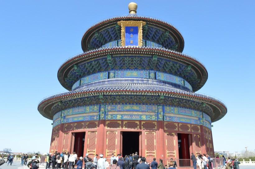 北京著名景点天坛高清风景桌面壁纸图片