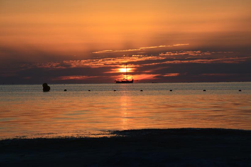 好看唯美的日落风景图片大全