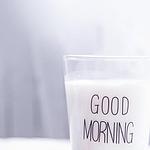 最新早安,来一杯牛奶图片