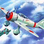 好看手绘战斗机艺术图片