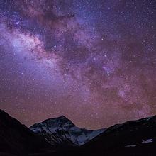繁星点点的璀璨星空唯美浪