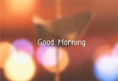 good morning朦胧美风景壁纸图片