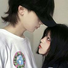 女生超美的真人情侣头像图