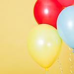 超级可爱五颜六色的气球