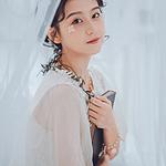 小清新靓丽白纱美女写真