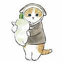 卡通可爱手绘小猫