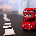 最美怀旧玩具巴士图片大