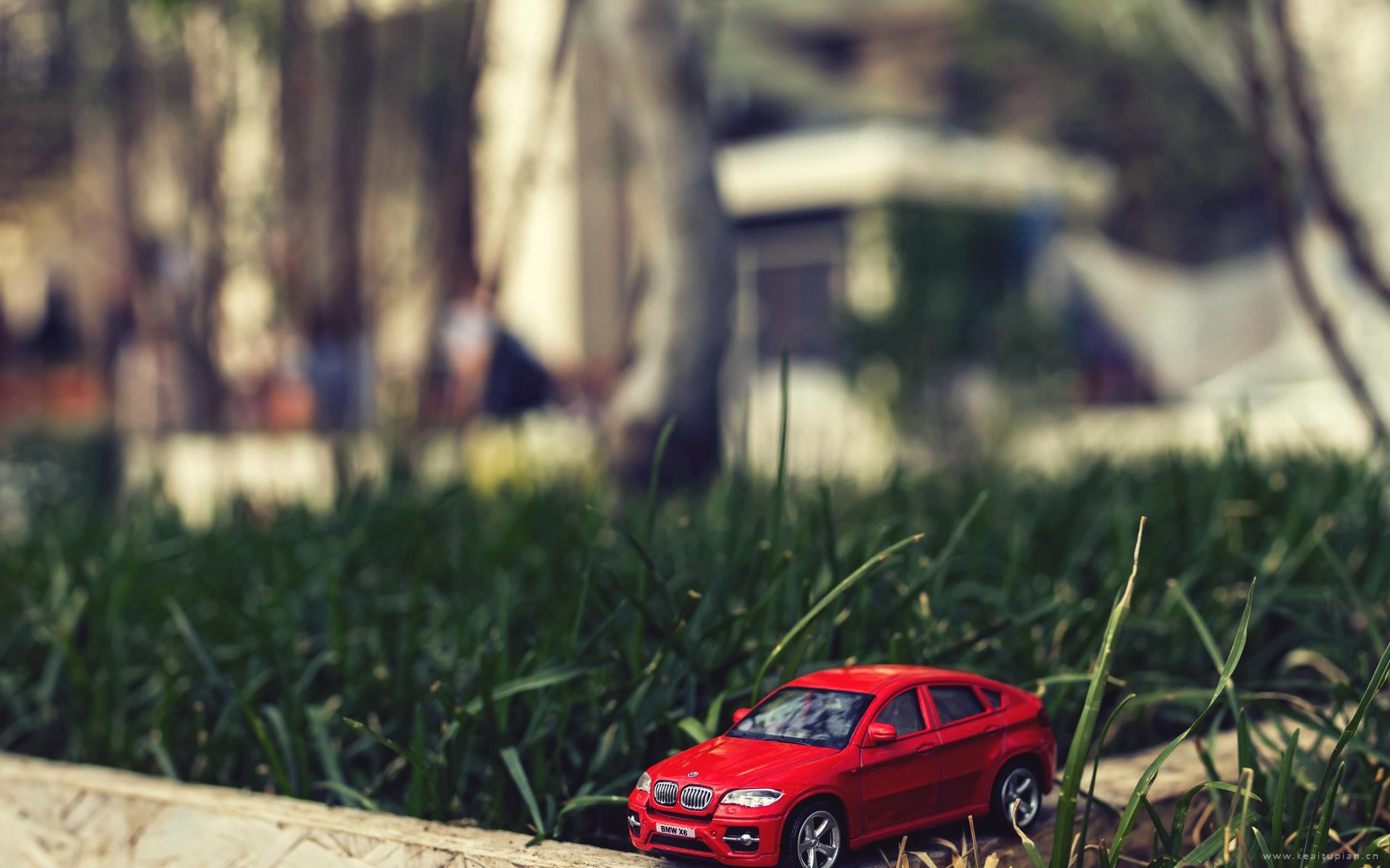 小汽车模型可爱玩具图片桌面壁纸