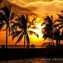 黄昏唯美好看的夕阳美景壁