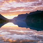 超美迷人的夕阳景色好看