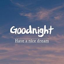 晚安Goodnight唯美风景手机桌面壁纸图片