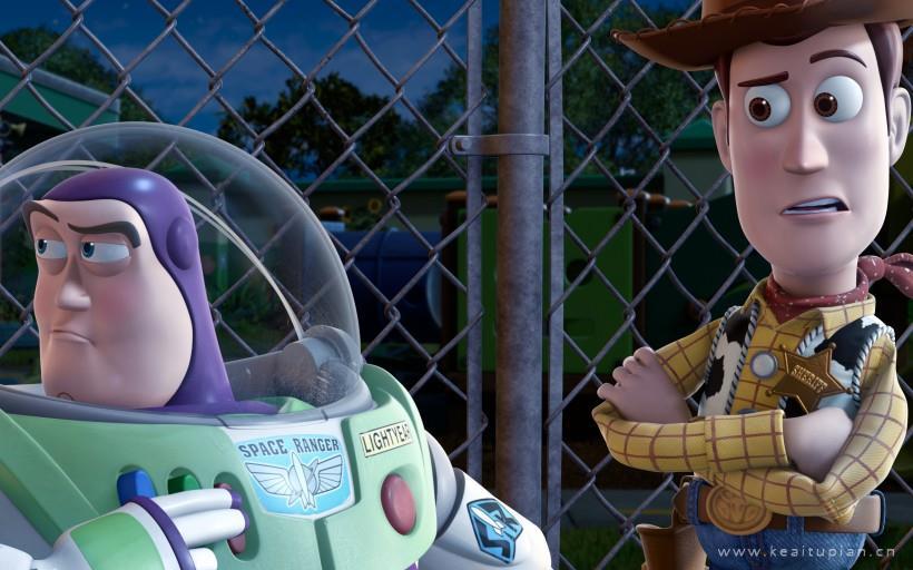 《玩具总动员3》动画电影桌面壁纸