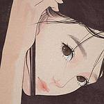 星褚:精致女生侧颜手绘插