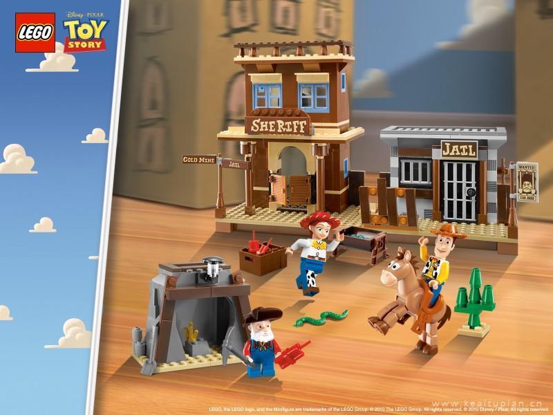 《玩具总动员3》桌面壁纸