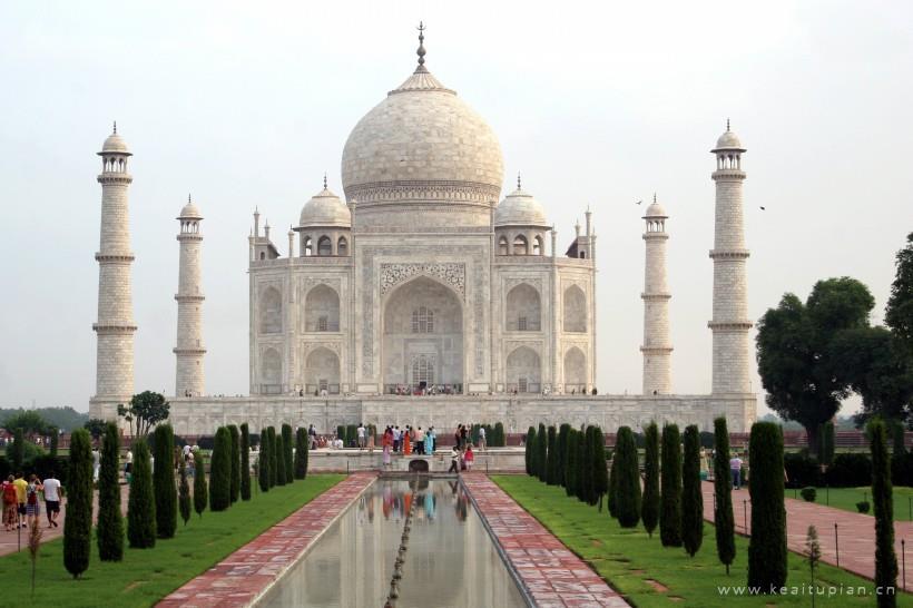 好看印度泰姬陵建筑风景图片大全