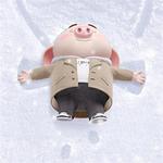 超可爱的猪猪卡通微信头