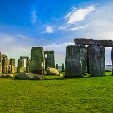 好看奇特的英格兰巨石阵建筑风景图片大全