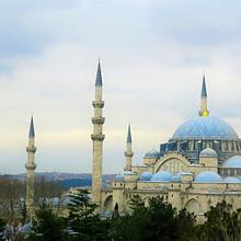 土耳其伊斯坦布尔精致建筑好看风景电脑桌面壁纸图片