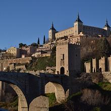 西班牙古城托莱多高清唯美风景图片大全