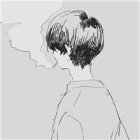 一支烟的悲伤时刻 动漫二次元抽烟伤感男头头像图片