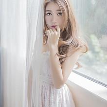 性感白色蕾丝裙美女诱人私