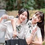 清纯元气姐妹花JK制服可爱