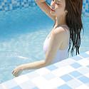 性感泳池美女高颜